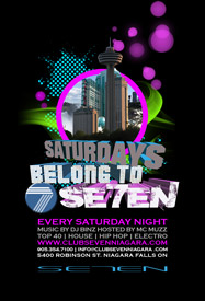 Club Se7en Saturdays Belong To Seven