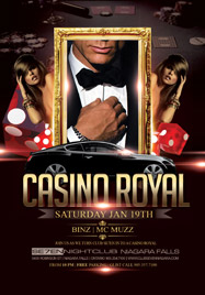 Club Se7en Saturdays Belong To Seven - Casino Royal