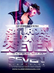 Club Se7en Saturdays Belong 2 Seven