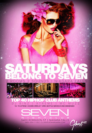 Club Se7en Saturdays Belong To Seven - 2 Rooms, 2 Sounds