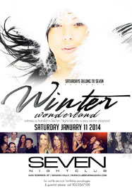 Club Se7en Saturdays Belong To Seven - Winter Wonderland