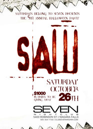 Club Se7en Saturdays Belong To Seven - Saw